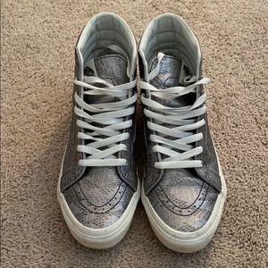 Vans Python Hightop Sneakers Size 9.5